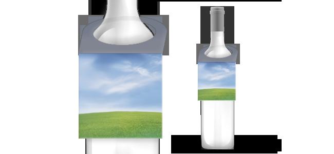 Visačky na fľaše   internetovatlaciaren.sk