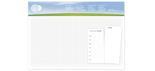 Podložky na písací stôl | internetovatlaciaren.sk