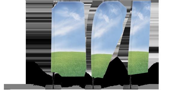 Reklamné vlajky | internetovatlaciaren.sk