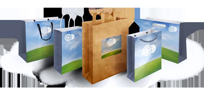 Papierové tašky | internetovatlaciaren.sk