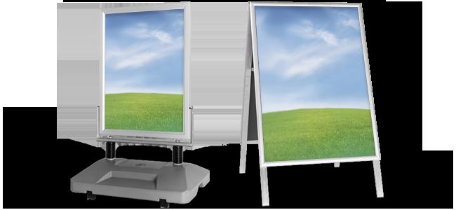 Reklamné stojany | internetovatlaciaren.sk